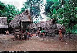 trobriand hut